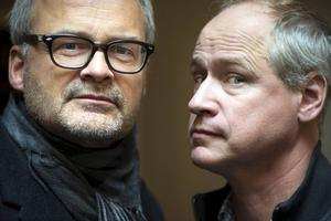 Johan Rheborg och Robert Gustafsson.