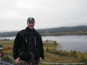 Sven Ljung, SM-silvermedaljören i Karate, är tillbaka på taket i Funäsdalen.