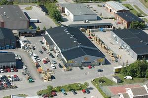 Så här ser Byggmax anläggning ut i Täby utanför Stockholm. Om man har ett tips på en lämplig lokal i Härnösand skall man höra av sig via e-post: hittelon@byggmax.se. Foto: Byggmax