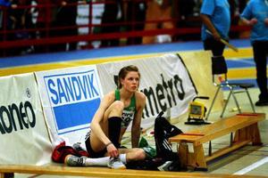 Erika Wiklund konstatera att 1,81 räcker för SM-guld, men inte för att få tävla i inne-EM.