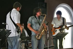 Jazzklubben framhäver sin ungdomssatsning i ansökningen. Här spelar Kristian Brun Band på ett av klubbens arrangemang.