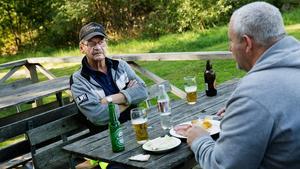 Pekka Harstio och Rickard Wijk trodde inte att partiet skulle få så stort stöd i Hölö.