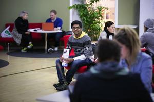 Rohith Guttapadu från Indien hamnade av en slump i Sverige och Högskolan Dalarna.