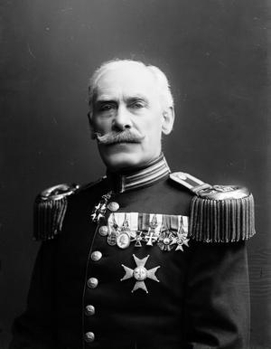 Wilhelm Ernst von Krusenstjerna som var chef för regementet 1902-1909.