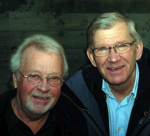 Lasse Hörnfeldt och Leif Olsson, två lokala jazzgiganter, möts på Gamla Teatern 25 februari. Foto: JOhan Garrett Short