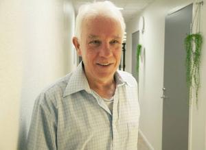 Sören Persson var nöjd efter massagen.