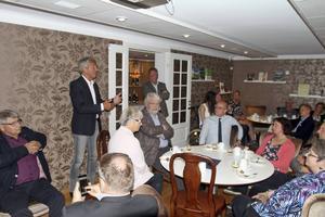 Ulf och Jens berättade om deras framgångssaga, byggd på tradition och familjesammanhållning.