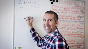 Thomas Bergström är matematiklärare på Risbroskolan i Fagersta och har sedan i höstas en karriärstjänst.