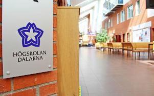 Studenter vid Högskolan Dalarna måste prestera mer vetenskapliga examensarbeten. Annars kan högskolan förlora examensrätten. Foto: Emma Andersson