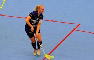 Erika Östensson kände en stor tomhet efter matchen.