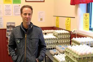 Martin Smedjeback, den djurrättsaktivist som dömdes till fängelse för aktionerna i somras.
