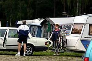 Foto: GUN WIGHSemestertid. Campingen kan vara på väg mot en rekordsommar med över 15 miljoner gästnätter enligt Sveriges campingvärdars riksförbund.