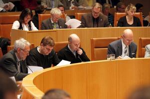 Tar tid. Den här mandatperioden är det fler som lämnar sina politiska uppdrag i Västerås. Bilden är från ett fullmäktigemöte.foto: per g Norén/vlt:s arkiv