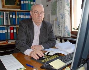 Orsa Besparingsskog. Rune Dehlen konstaterar att det finns ett positivt intresse för vindkraft på Orsa finnmark.