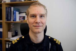 Josef Wiklund, chef för den brottsförebyggande enheten.