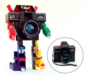 Kameraroboten som försvarar universum