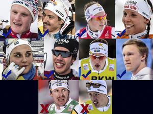 Charlotte Kalla är tillbaka till avslutningen i världscupen - minitouren i Kanada - liksom Marcus Hellner. Calle Halfvarsson och Emil Jönsson avstår men Jens Burman och Oskar Svensson får fortsatt förtröende.