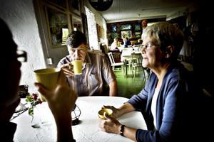 """Besudlad trakt. Kees och Kestin Geurtsen brukade åka till Stjärnsund varje sommar, men det tar emot nu. """"Det är en besudlad trakt"""", säger Kees Geurtsen."""