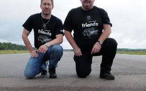Arne Bogsveen och Anders Edin hoppas på fint väder när Marie Memorial Race ska köras. Foto: Sven Thomsen