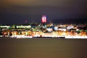 Så här ser  Östersund ut i normala fall ...