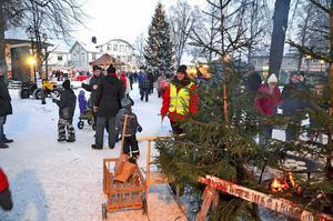 Traditionsenlig julmarknad väntar nästa helg i Säter, med vissa nya inslag. Bilden är från 2012 års julmarknad.