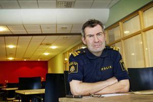 Per Thelin, utredare vid Jämtlandspolisen. Bild: Ulrika Andersson, LT arkiv
