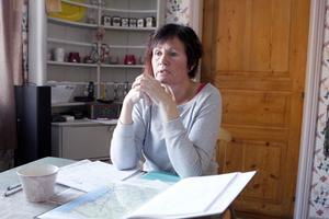 Anki Lindkvist-Johansson för jägarnas talan i älgförvaltningsgruppen Ljusnan-Voxnan.