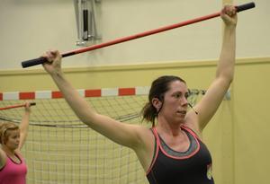 Hela kroppen får sitt i träningen Push & lift. En av flera träningsformer som finns i Hälsans hus, Grythyttan.