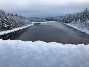 Lördag förmiddag, norr om Älvdalen.