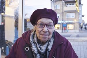 Elsy Hansson, 81 år, pensionär, Fagersta: – Att jag har en familj och att jag har barn som är friska. Sedan är det en stor lycka att jag precis fått ett till barnbarns barn. Det trodde jag inte att jag skulle få uppleva.