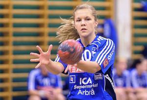 Amanda Hanning var het när Arbrå tog andra raka segern i handbollsettan.