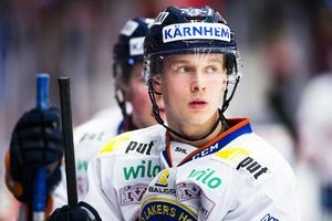 Elias Pettersson i Växjö-tröjan.