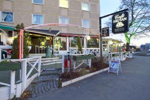 Café Skutan i Hudiksvall utsattes för rånförsök, under natten till tisdagen.