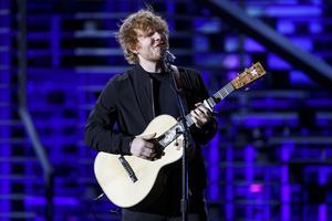 Ed Sheerans nya platta väntas bli vårens storsäljare. Arkivbild.