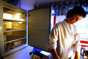 Avdelningschefen Ann Heselius vill gärna att frysarna fylls med mer bröstmjölk.