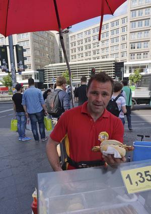 Currywürst på Berlins gator.   Foto: Anders Pihl