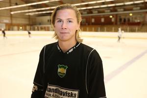 Jonas Granberg under försäsongen 2016/17 med SIF Norrtelje.