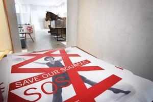 SOS - save our sources, är namnet på den utställning som Ljusdalsbygdens museum har varit med och arbetat fram och som kommer att sitta uppe till i slutet av september.