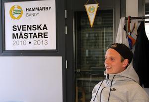 Ett SM-guld på meritlistan. Det tog Adam Gilljam med Hammarby 2013 i en final på Friends Arena där han själv kom att spela en stor huvudroll.