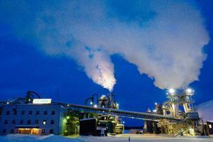 ACB Laminat har så här långt tillhört de företag i länet som släppt ut mest koldioxid. Foto: Ulrika Andersson