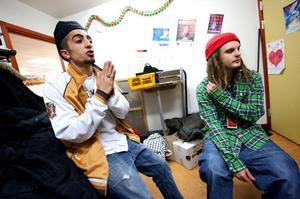 Hiphopkvällen gav mersmak för arrangörerna Ache Abdulrahman och Johan Karlsson.