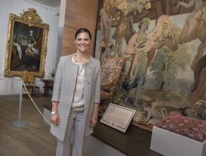Kronprinsessan Victoria invigde utställningen