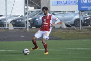 Aram Abed har ett förflutet i Sandvikens IF. Foto: Ossian Mathiasson.
