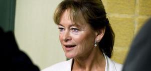Lena Adelsohn Liljeroth (M) presenterade under måndagen regeringens kulturproposition och kulturbudget.