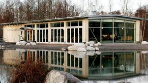Ett naturrum byggs vid Naturens hus.