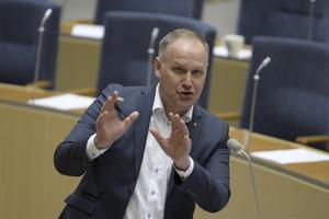V-ledare. Jonas Sjöstedt Foto: TT