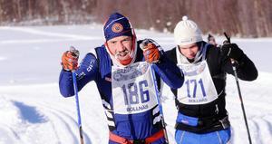 Niclas Bärj drog det längsta strået i Hälsingeleden, strax före Lars Åslin.