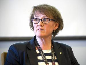Fastighetsdirektör Helena Ribacke vid Region Gävleborg vill göra gemensam planering för ombyggnationer vid akutsjukhusen i Gävle och Hudiksvall.