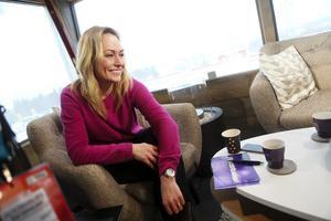 Yvette Hermundstad är programledare för Vasaloppet.
