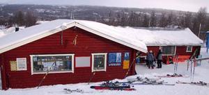 Det här är serveringsbyggnaden vid Tänndalsvallen.